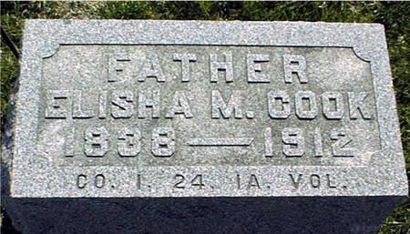 COOK, ELISHA M. - Clinton County, Iowa | ELISHA M. COOK