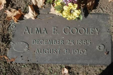 COOLEY, ALMA E. - Clinton County, Iowa | ALMA E. COOLEY