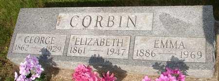CORBIN, ELIZABETH - Clinton County, Iowa | ELIZABETH CORBIN