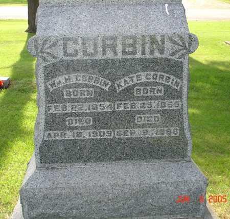CORBIN, WM. H. - Clinton County, Iowa | WM. H. CORBIN