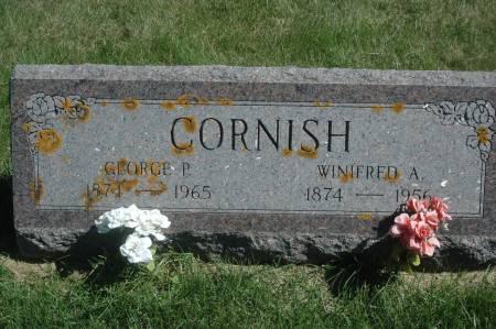 CORNISH, WINIFRED A. - Clinton County, Iowa | WINIFRED A. CORNISH
