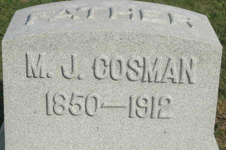 COSMAN, M J - Clinton County, Iowa | M J COSMAN