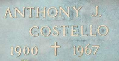 COSTELLO, ANTHONY J. - Clinton County, Iowa | ANTHONY J. COSTELLO