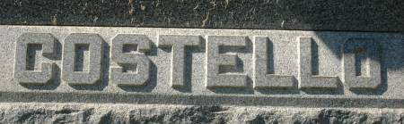 COSTELLO, FAMILY MONUMENT - Clinton County, Iowa | FAMILY MONUMENT COSTELLO