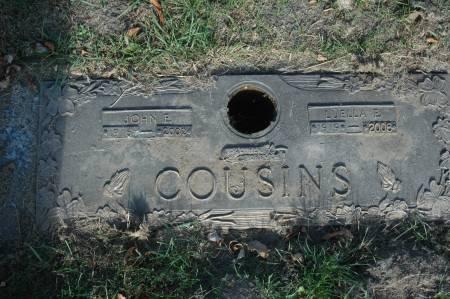 COUSINS, LUELLA E. - Clinton County, Iowa | LUELLA E. COUSINS