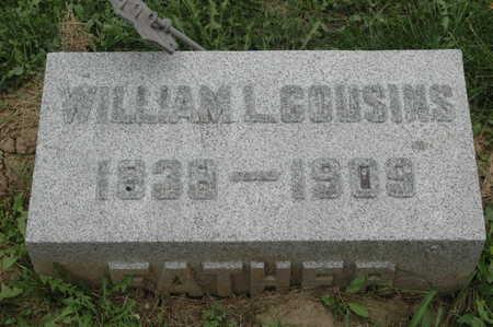 COUSINS, WILLIAM L. - Clinton County, Iowa   WILLIAM L. COUSINS