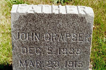 CRAPSER, JOHN - Clinton County, Iowa | JOHN CRAPSER