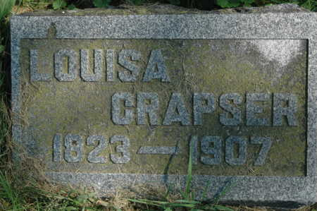 CRAPSER, LOUISA - Clinton County, Iowa   LOUISA CRAPSER