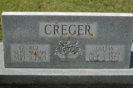 CREGER, GEORGE - Clinton County, Iowa | GEORGE CREGER