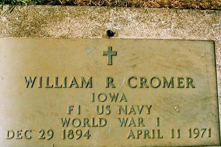 CROMER, WILLIAM R. - Clinton County, Iowa | WILLIAM R. CROMER