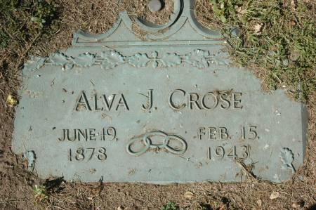 CROSE, ALVA J. - Clinton County, Iowa | ALVA J. CROSE