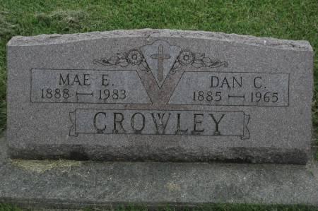 CROWLEY, DAN C. - Clinton County, Iowa | DAN C. CROWLEY