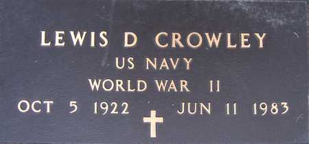 CROWLEY, LEWIS D. - Clinton County, Iowa | LEWIS D. CROWLEY