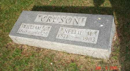 CRUSON, NELLIE M. - Clinton County, Iowa | NELLIE M. CRUSON