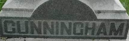 CUNNINGHAM, FAMILY MONUMENT - Clinton County, Iowa | FAMILY MONUMENT CUNNINGHAM