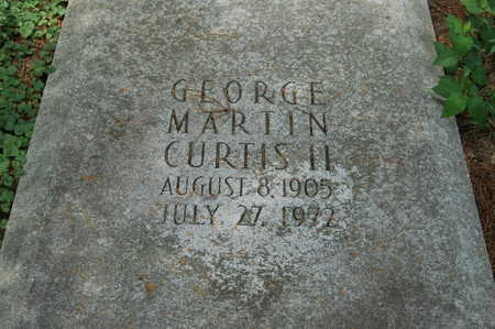 CURTIS, GEORGE MARTIN II - Clinton County, Iowa | GEORGE MARTIN II CURTIS