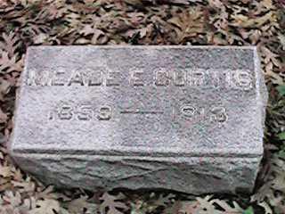 CURTIS, MEADE E - Clinton County, Iowa | MEADE E CURTIS