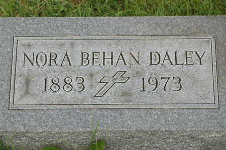 BEHAN DALEY, NORA - Clinton County, Iowa | NORA BEHAN DALEY