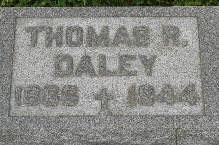 DALEY, THOMAS R. - Clinton County, Iowa   THOMAS R. DALEY