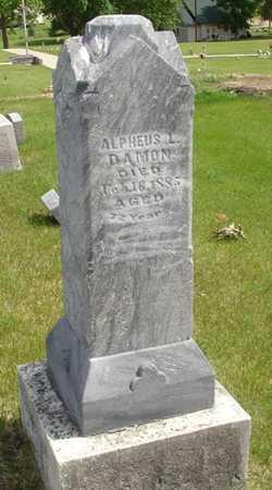 DAMON, ALPHEUS L. - Clinton County, Iowa | ALPHEUS L. DAMON
