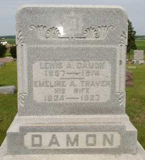 DAMON, LEWIS A. - Clinton County, Iowa | LEWIS A. DAMON