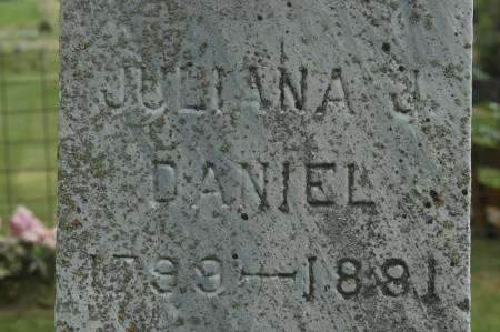 DANIEL, JULIANA J. - Clinton County, Iowa | JULIANA J. DANIEL