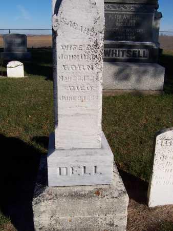 DELL, SARAH J. - Clinton County, Iowa   SARAH J. DELL