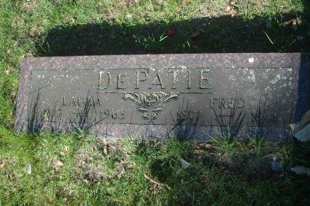 DEPATIE, FRED - Clinton County, Iowa   FRED DEPATIE