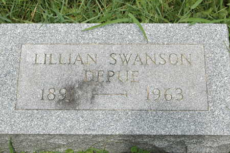 SWANSON DEPUE, LILLIAN - Clinton County, Iowa | LILLIAN SWANSON DEPUE