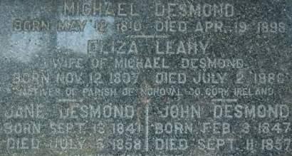 DESMOND, MICHAEL - Clinton County, Iowa | MICHAEL DESMOND