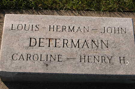DETERMANN, CAROLINE - Clinton County, Iowa | CAROLINE DETERMANN