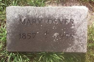 DEVER, MARY - Clinton County, Iowa | MARY DEVER