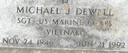 DEWELL, MICHAEL J. - Clinton County, Iowa | MICHAEL J. DEWELL