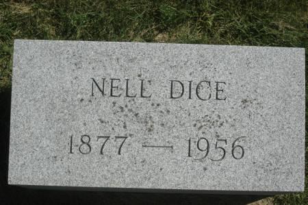 DICE, NELL - Clinton County, Iowa   NELL DICE