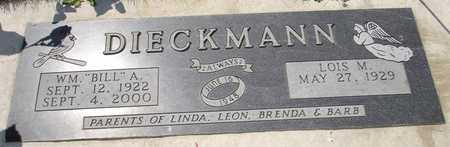 DIECKMANN, LOIS M. - Clinton County, Iowa   LOIS M. DIECKMANN