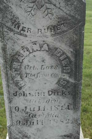 DIERKS, CATHARINA - Clinton County, Iowa | CATHARINA DIERKS