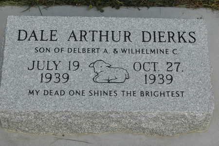 DIERKS, DALE ARTHUR - Clinton County, Iowa | DALE ARTHUR DIERKS