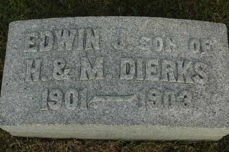 DIERKS, EDWIN - Clinton County, Iowa   EDWIN DIERKS