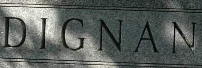 DIGNAN, FAMILY MONUMENT - Clinton County, Iowa | FAMILY MONUMENT DIGNAN