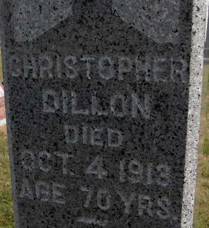 DILLON, CHRISTOPHER - Clinton County, Iowa   CHRISTOPHER DILLON