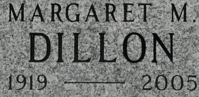 DILLON, MARGARET M. - Clinton County, Iowa | MARGARET M. DILLON