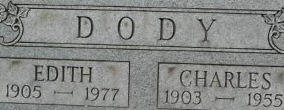 DODY, EDITH - Clinton County, Iowa | EDITH DODY