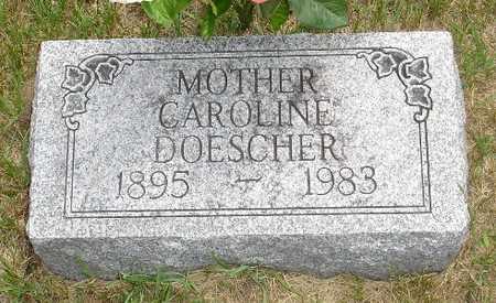 DOESCHER, CAROLINE - Clinton County, Iowa   CAROLINE DOESCHER