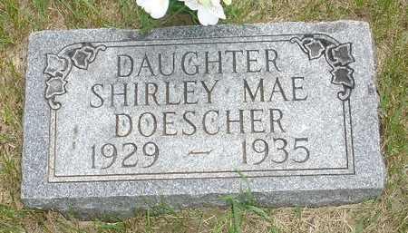 DOESCHER, SHIRLEY MAE - Clinton County, Iowa | SHIRLEY MAE DOESCHER