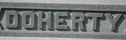 DOHERTY, FAMILY MONUMENT - Clinton County, Iowa | FAMILY MONUMENT DOHERTY