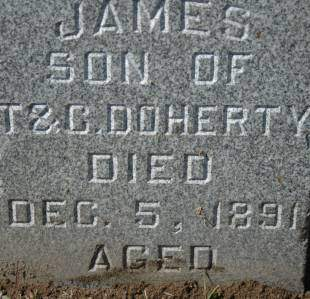 DOHERTY, JAMES - Clinton County, Iowa   JAMES DOHERTY