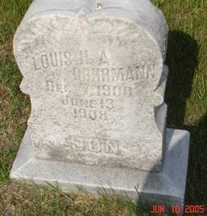 DOHRMANN, LOUIS H. A. - Clinton County, Iowa   LOUIS H. A. DOHRMANN