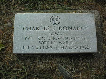 DONAHUE, CHARLES J. - Clinton County, Iowa | CHARLES J. DONAHUE