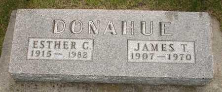 DONAHUE, JAMES T. - Clinton County, Iowa | JAMES T. DONAHUE