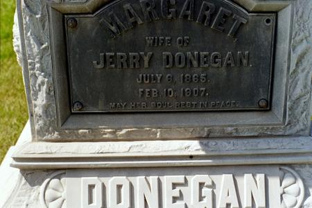 DONEGAN, MARGARET - Clinton County, Iowa | MARGARET DONEGAN